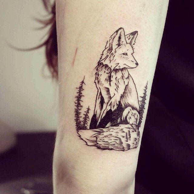 Wild Animal Spirits In Beautiful Tattoos By Cheyenne Nature Tattoos Animal Tattoo Small Nature Tattoo
