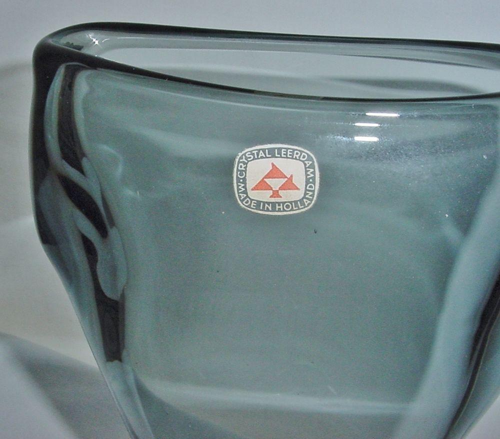 Elegant modern leerdam floris meydam rare glass vase with original elegant modern leerdam floris meydam rare glass vase with original crystal label reviewsmspy