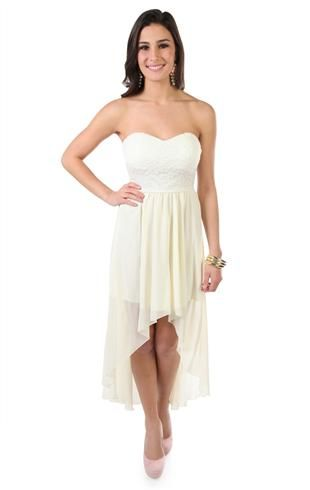 I Kinda Want A High Low Dress For Winter Formal In Black Tho