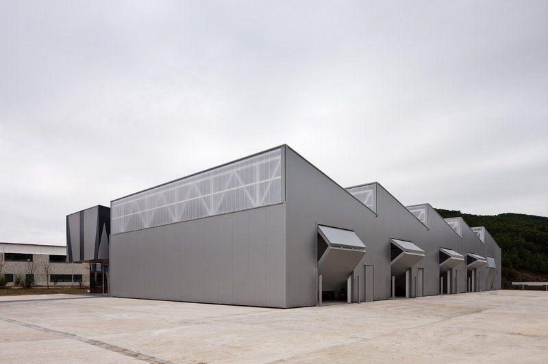 Centro polivalente valle de salaz r iciz navarra - Arquitectos navarra ...