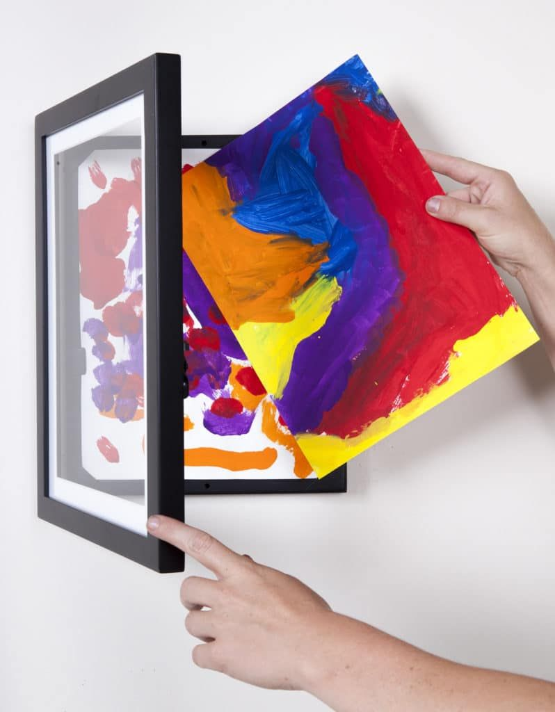 My Li L Davinci Kids Art Frames Come In A4 A3 Sizes Each Frame Can Store Up To 50 Pages Helping You To Keep A Art Display Kids Artwork Display Art