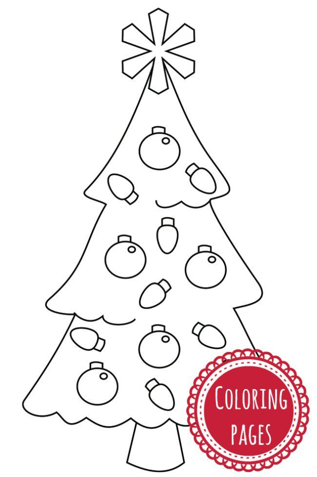TRADITIONAL CHRISTMAS COLORING PAGES FOR KIDS | Pinterest ...