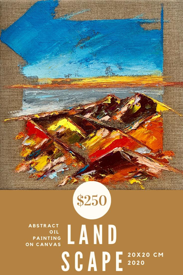 Landscape Painting Original Art Landscape Oil On Canvas Oil Painting Abstract Painting Abstract Landscape Art For Sale Pa