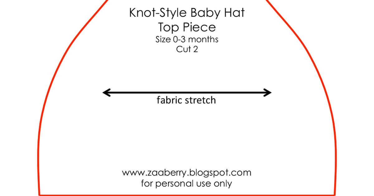Zaaberry Baby Hat Pattern.pdf   cositas bebe   Pinterest   Bebé