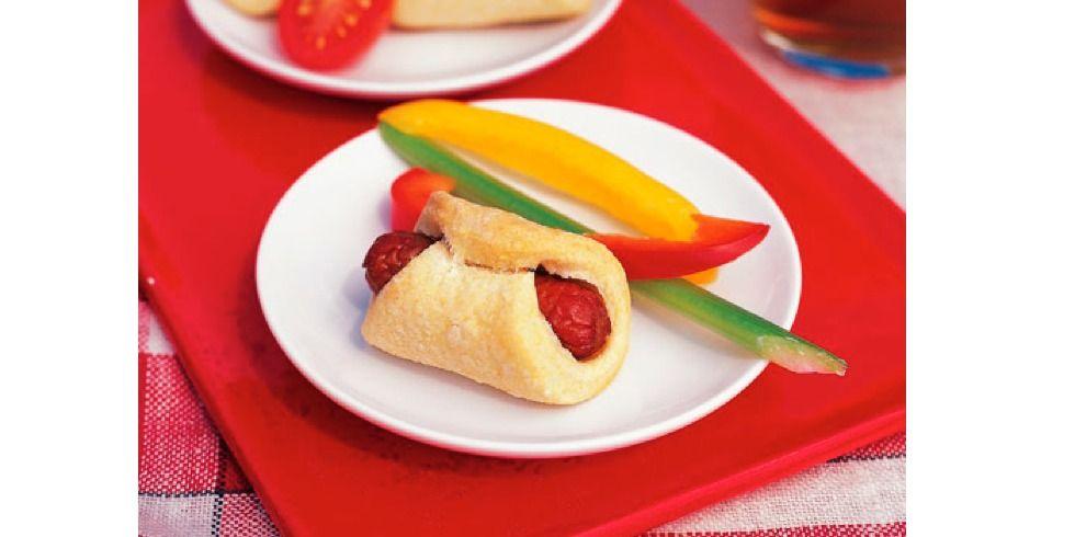 Mini Corn Dogs Recipe Hot dog recipes, Mini corn dogs