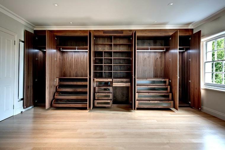 Eingebauter Kleiderschrank und seine wichtigsten Vorteile für den - küche in dachschräge