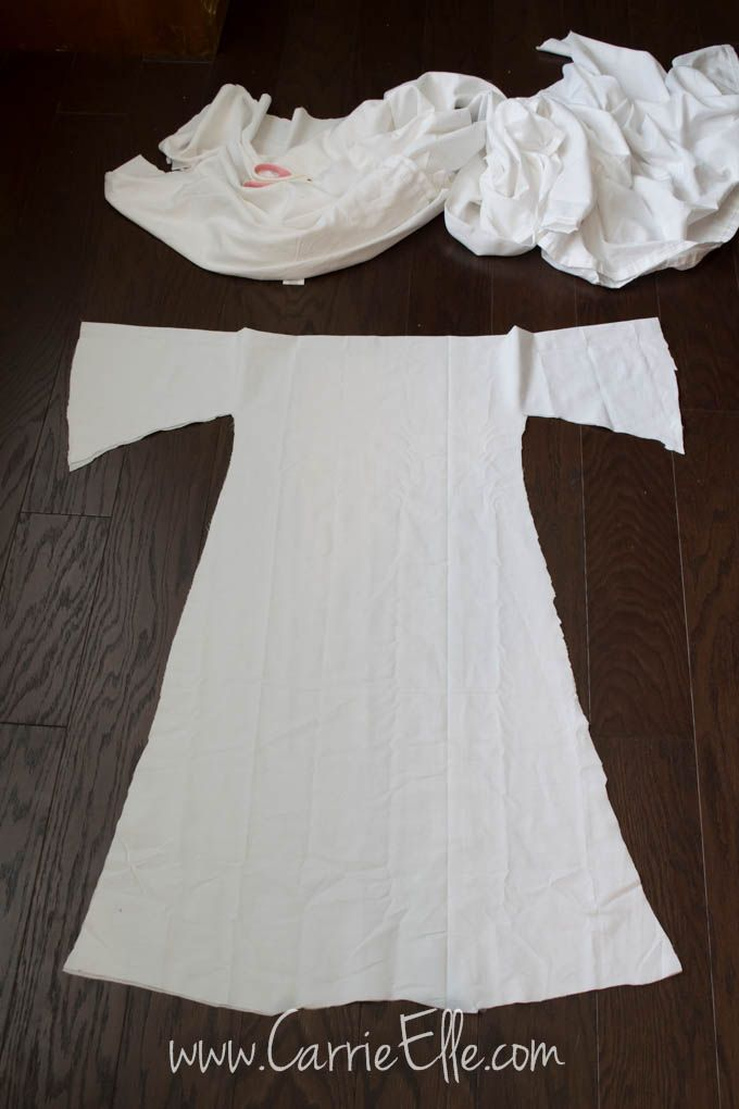 No Sew Diy Princess Leia Costume For Kids Princess Leia Costume