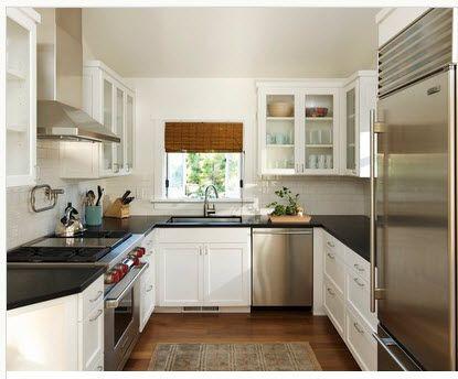 Diseño de cocina pequeña con ideas y fotos | Diseños de cocinas ...