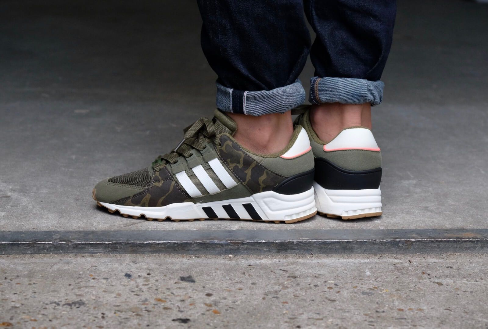 los angeles 32d0b b5820 Adidas EQT Support RF Olive CargoOff WhiteCore Black - BB1323