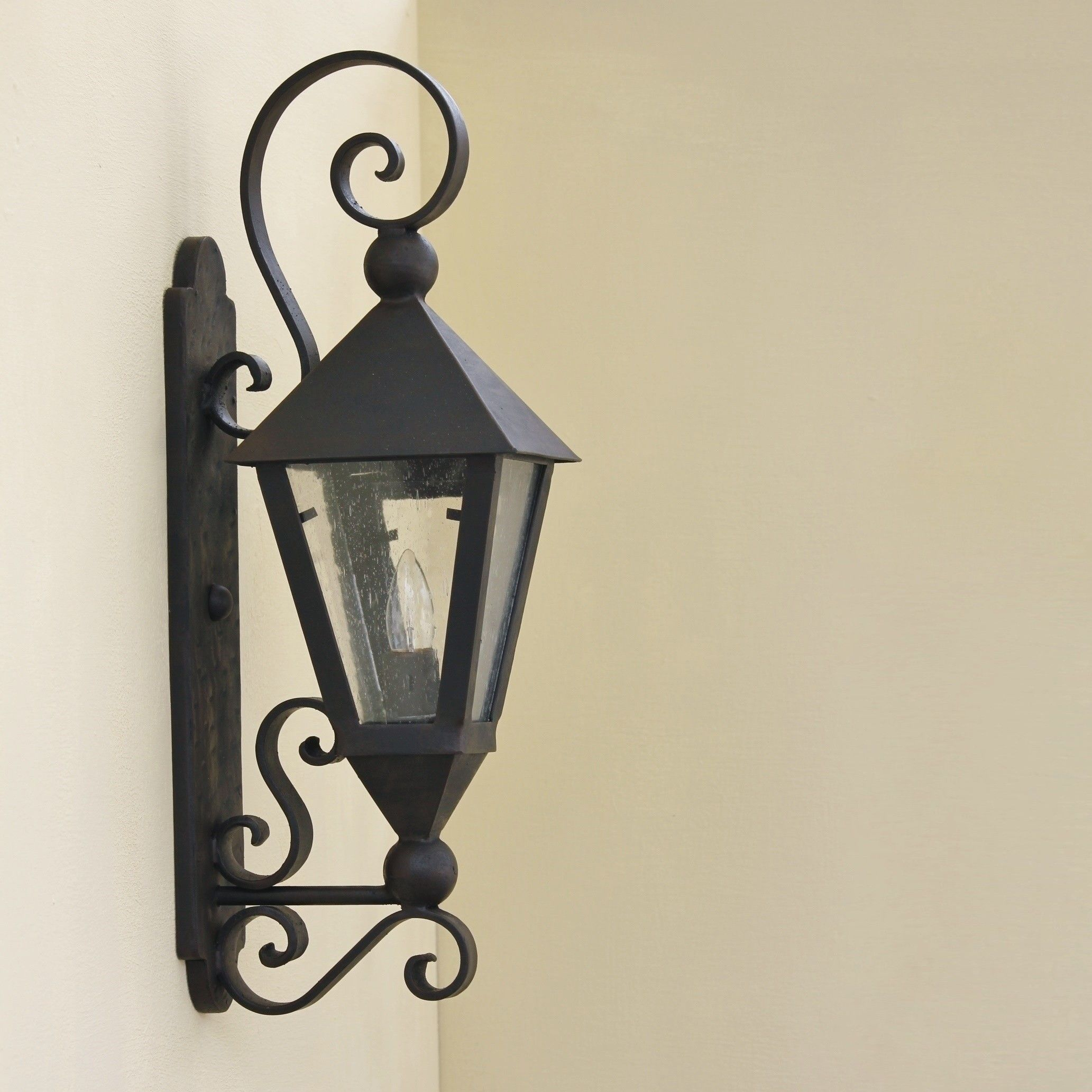 tuscan spanish style outdoor lighting