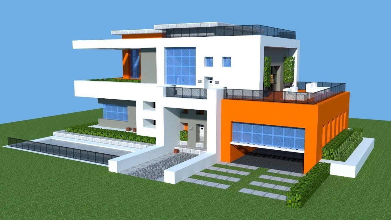 Related Image Mansions Modern Mansion Minecraft House Designs