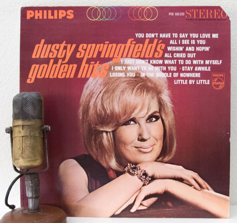 Dusty springfield vinyl record albums 1960s british blue