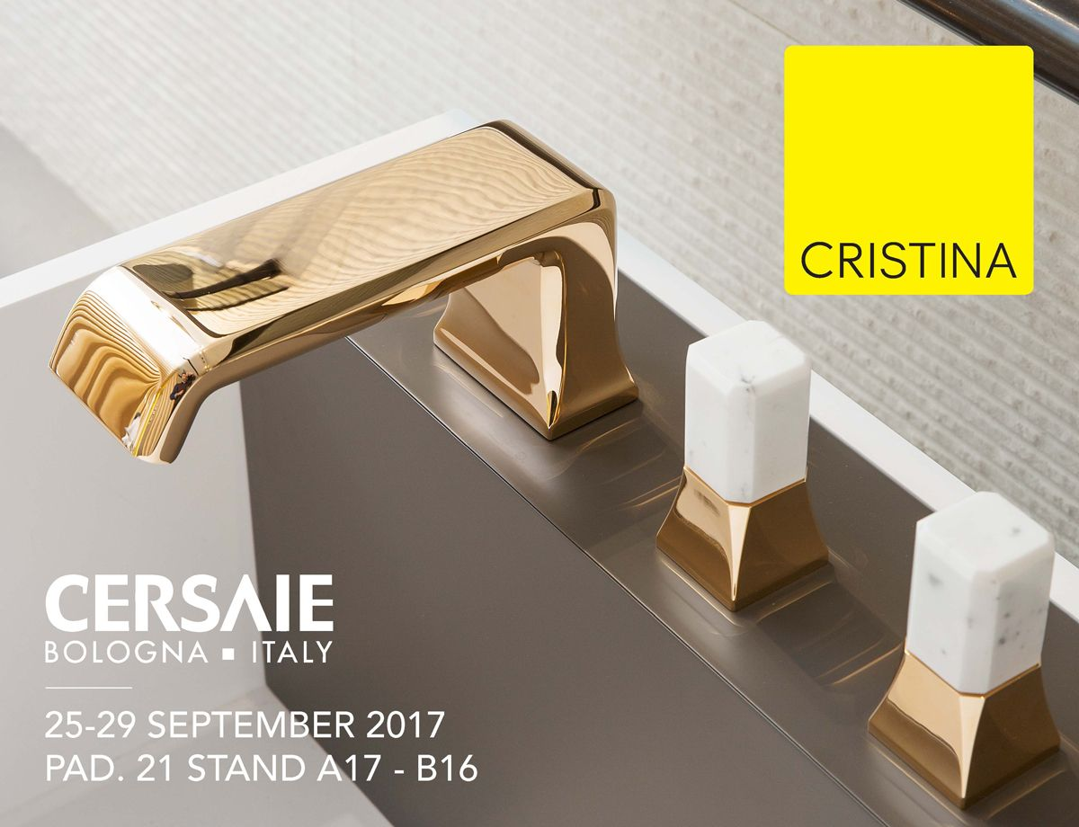 Cristina Rubinetterie - mixer taps for bathroom and kitchen - shower ...