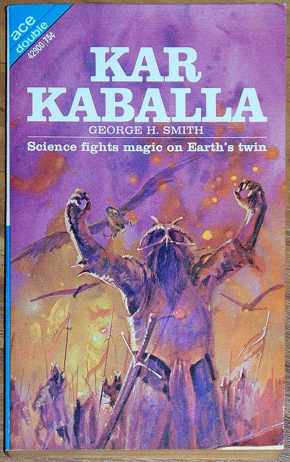 Fantasy Book Cover Art For Sale : Ace fantasy scifi double kar kaballa by atom