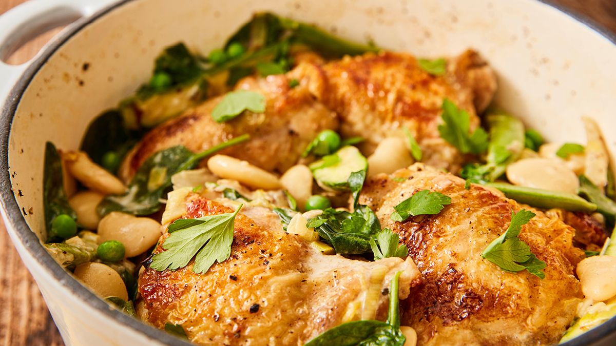 Spring Chicken One Pot Recipe Booths Supermarket In 2021 One Pot Meals Pot Recipes Recipes