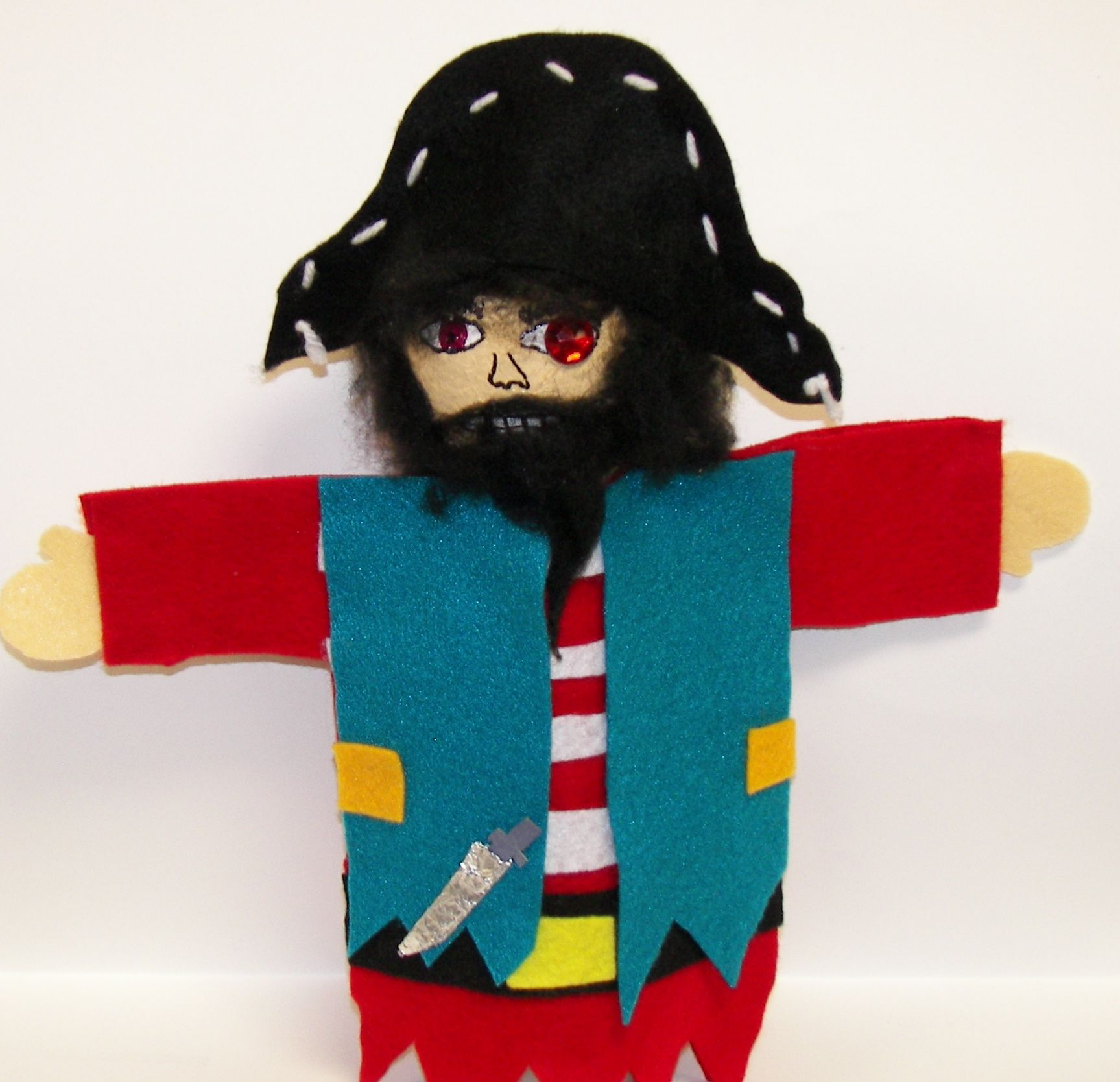 Pirate Puppets By Grade 4