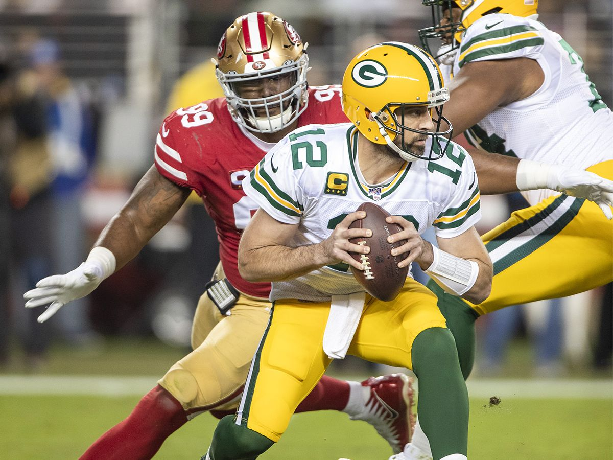 Championship Sunday Picks Will 49ers Drop Rodgers And Co Can