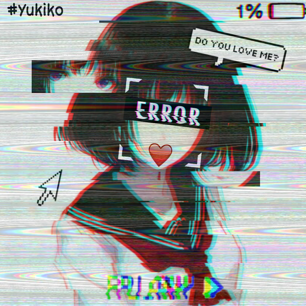 Pin on Glitch (edit by me)