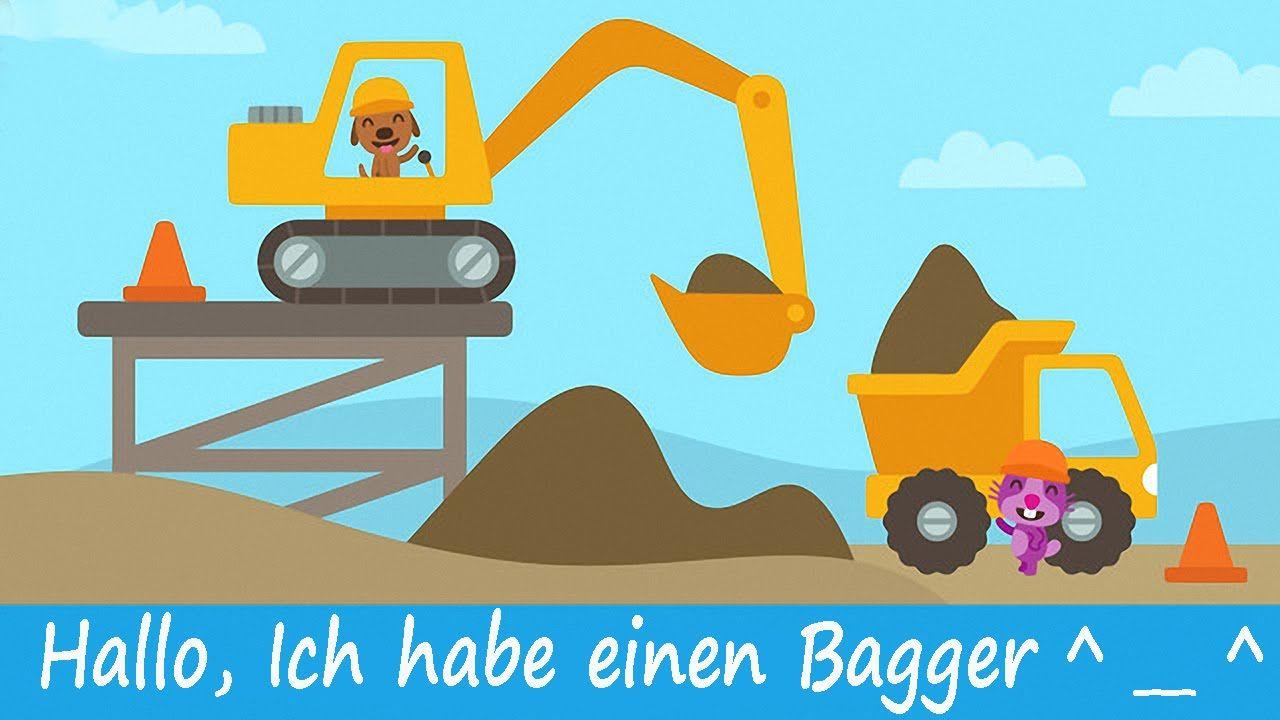 Bagger Kinderfilm - LKW und Bagger Spiele - Kinder Bagger. ABCKinder Kanal Fahren Sie einen Kipper mit Rosie den Hamster! Hohe Schmutzhaufen in den Boden und...