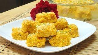Mango Kalakand Burfi Recipe Burfi Recipe Indian Desserts Indian Cooking