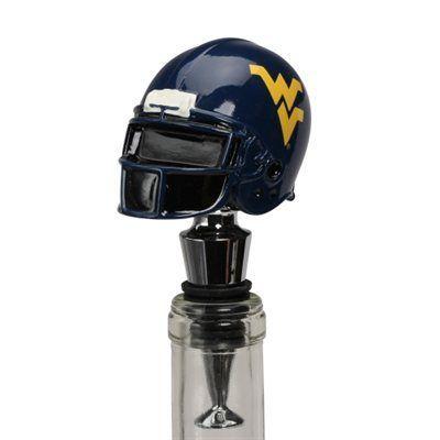 Helmet Bottle Stopper #wvumountaineers WVU Mountaineers Helmet Bottle Stopper. I NEEEEEED this. #wvumountaineers