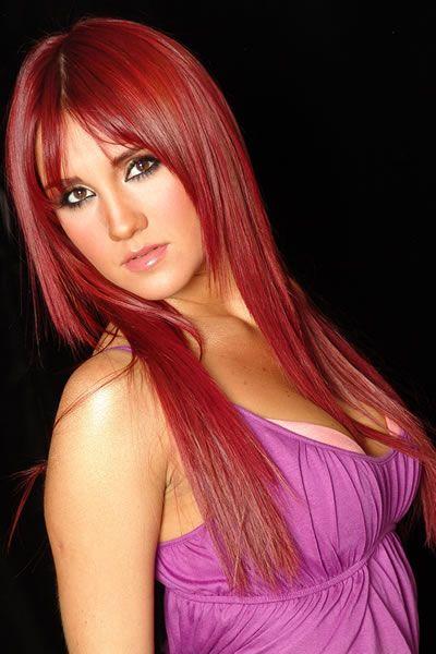 Dulce Maria Red Hair