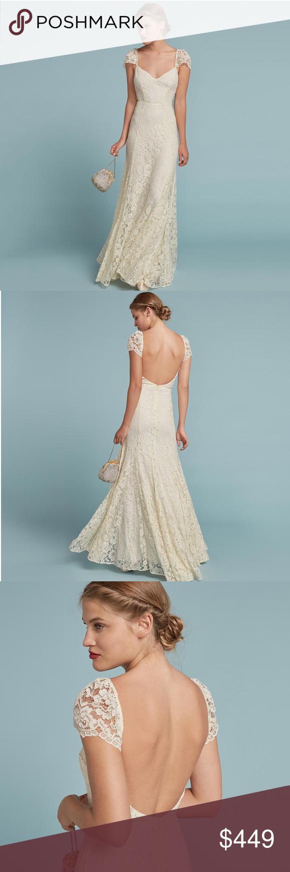 New reformation seleste consuelo wedding dress boutique party
