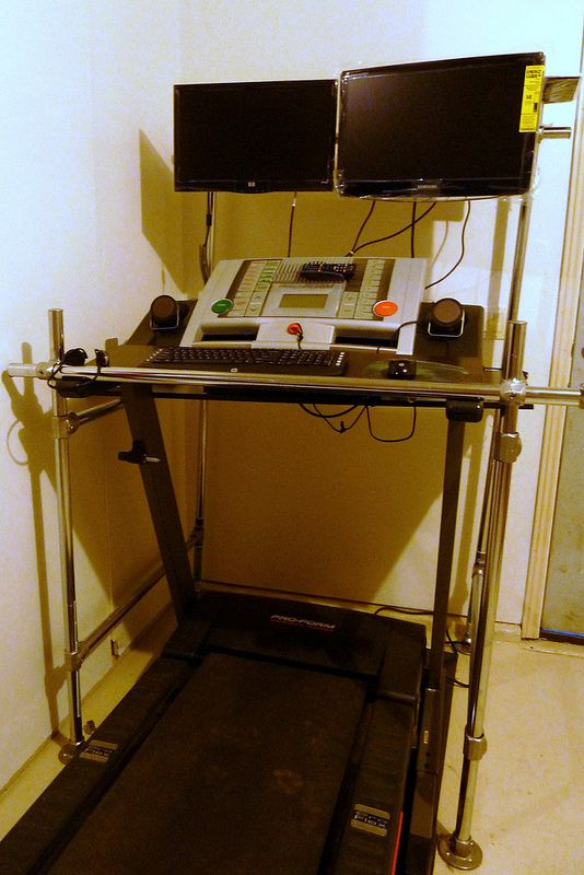 Diy Treadmill Desk Pinterest While Walking I