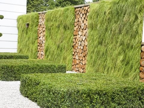 Sichtschutz Im Garten Modern. moderne terrasse mit sichtschutz ...