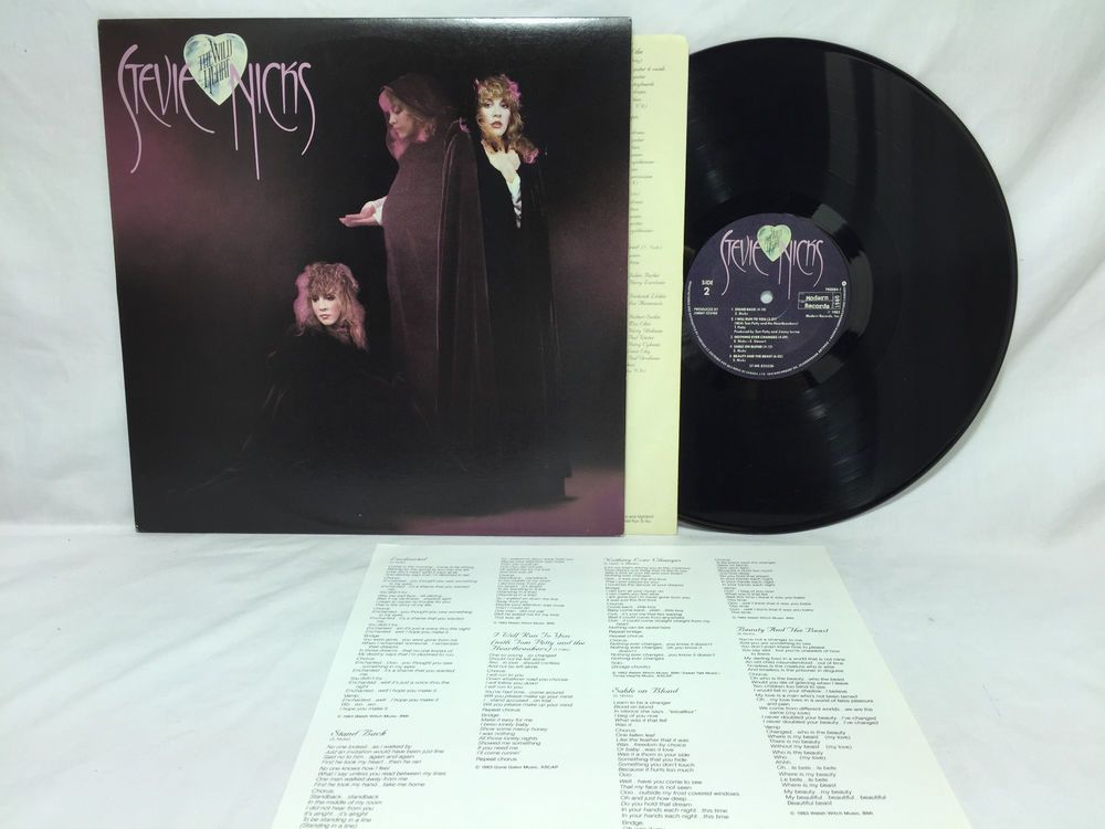 Stevie Nicks The Wild Heart Vinyl Record Album Canadian Pressing Vg Ex Insert Vinyl Records Vinyl Record Album Stevie Nicks