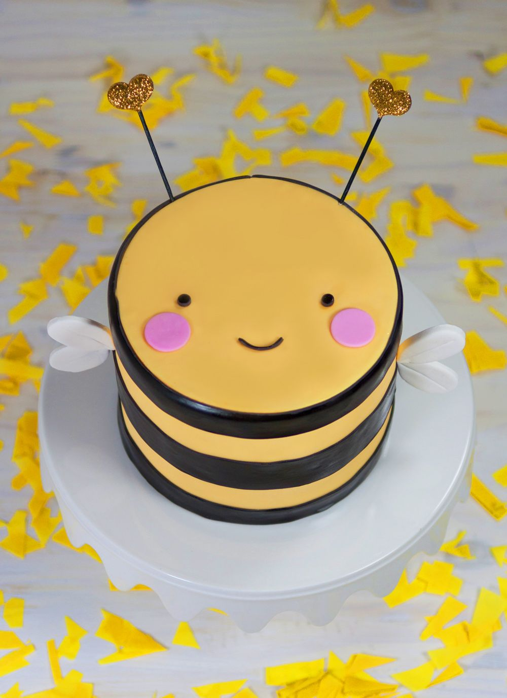 Bumblebee Cake by Whipped Bakeshop in Philadelphia