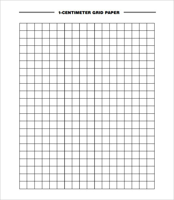 word graph paper template