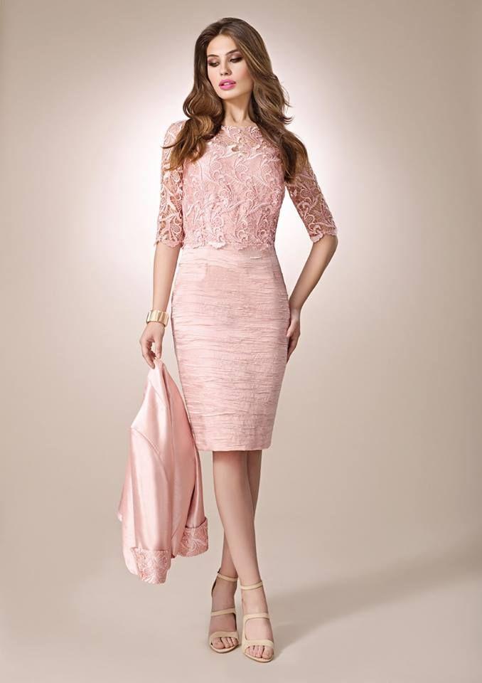 Pin de Nilda Loreiro en novias | Pinterest | Vestidos cortos ...