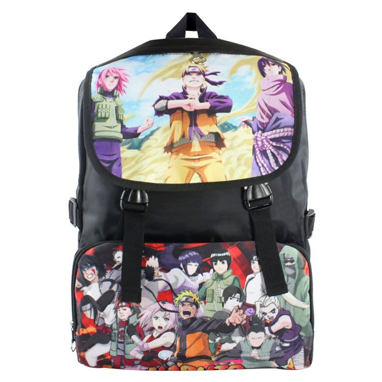 421ac947bd42 Anime NARUTO Cosplay Uzumaki Naruto backpack student bag birthday ...