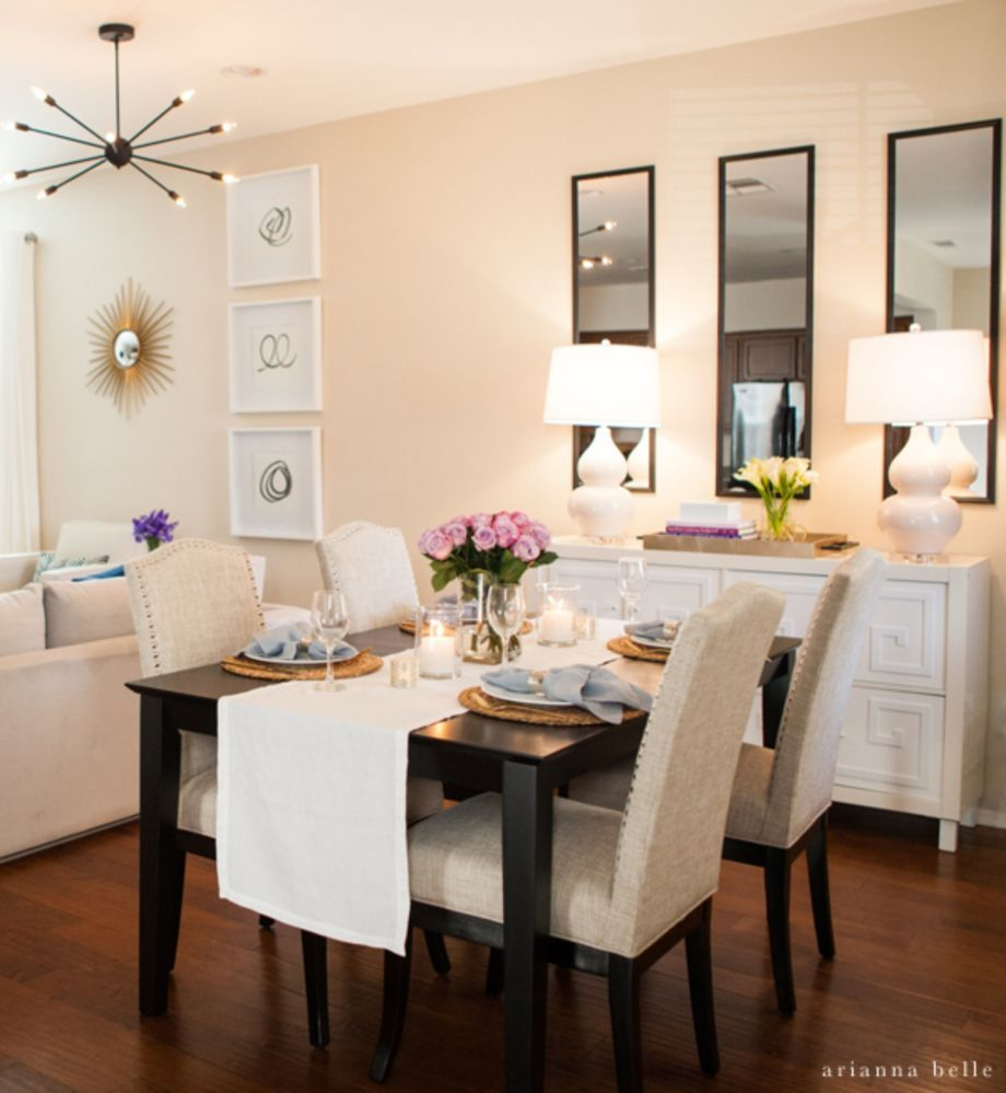 Awesome clever and genius small dining room design ideas