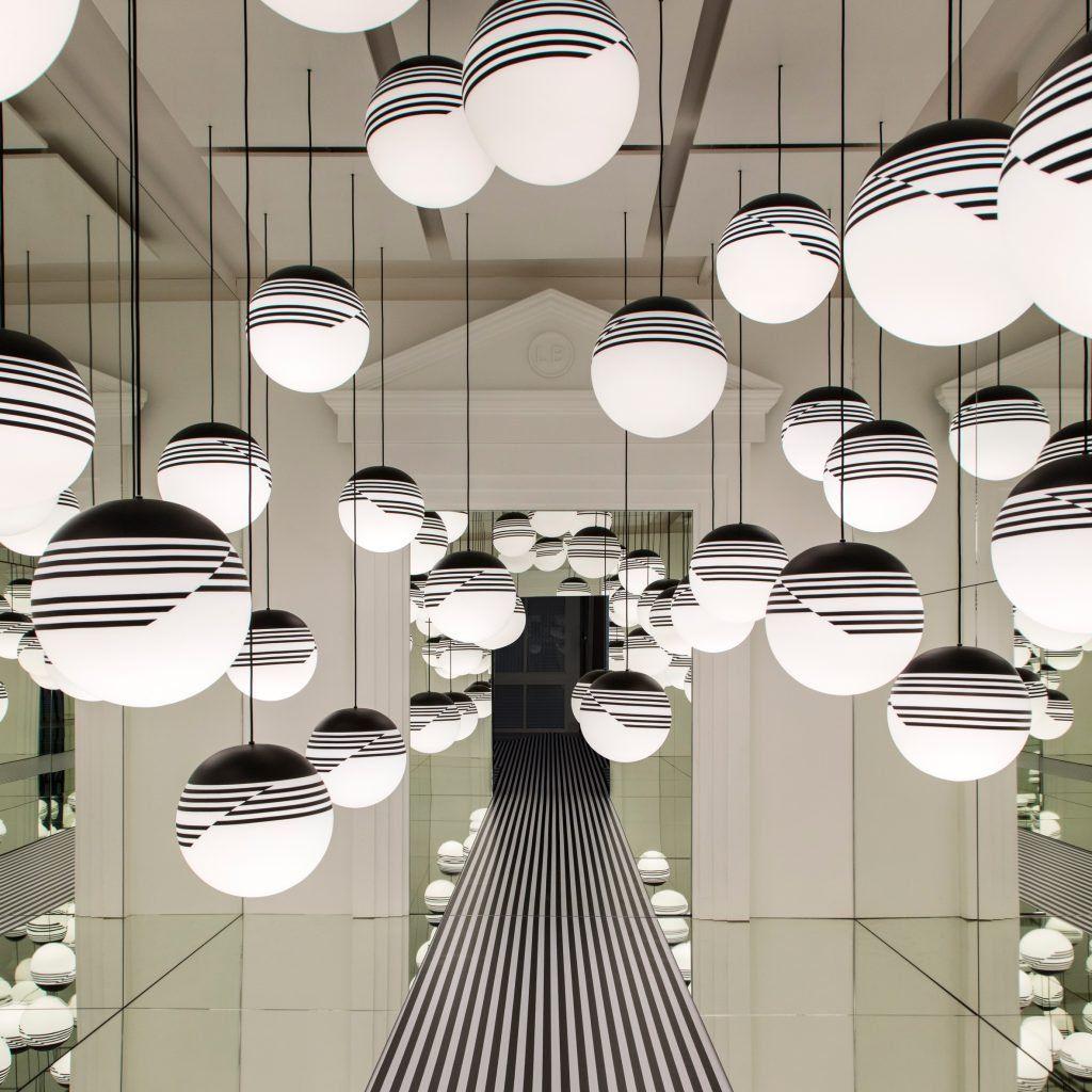 Lee Broom fills London store with infinite pendant lights