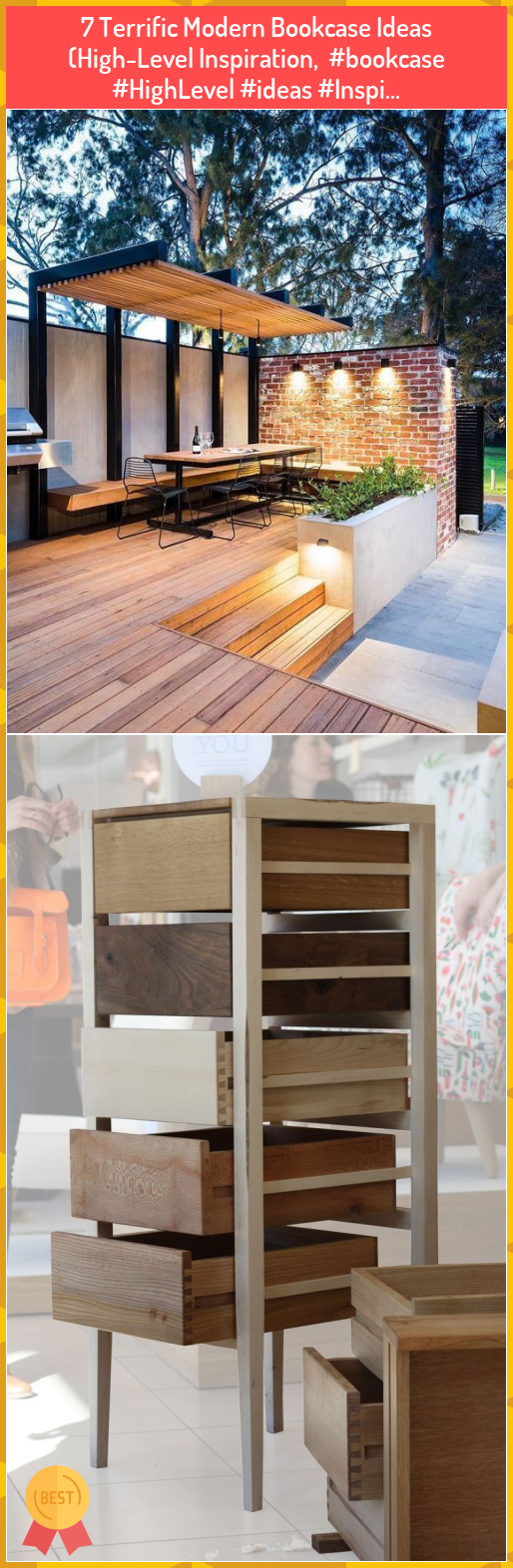 7 Terrific Modern Bookcase Ideas (High-Level Inspiration,  #bookcase #HighLevel #ideas #Inspi... #Terrific #Modern #Bookcase #Ideas #(High-Level #Inspiration, ##bookcase ##HighLevel ##ideas ##Inspi...