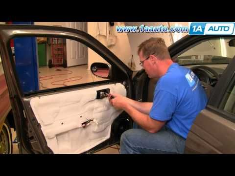 How To Install Replace Inside Door Handle Nissan Sentra 04 06 1AAuto.com