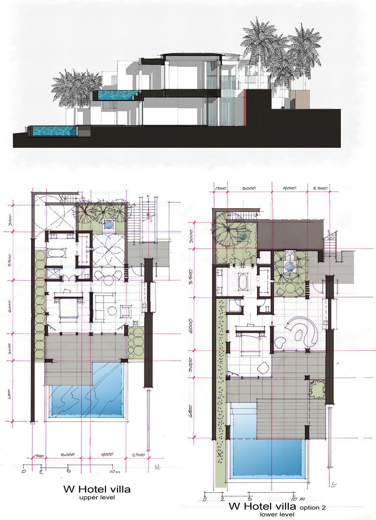 Heibrid Architecture W Hotel Sanya Haitiang Bay Villas Denah Rumah W Hotel Desain Arsitektur