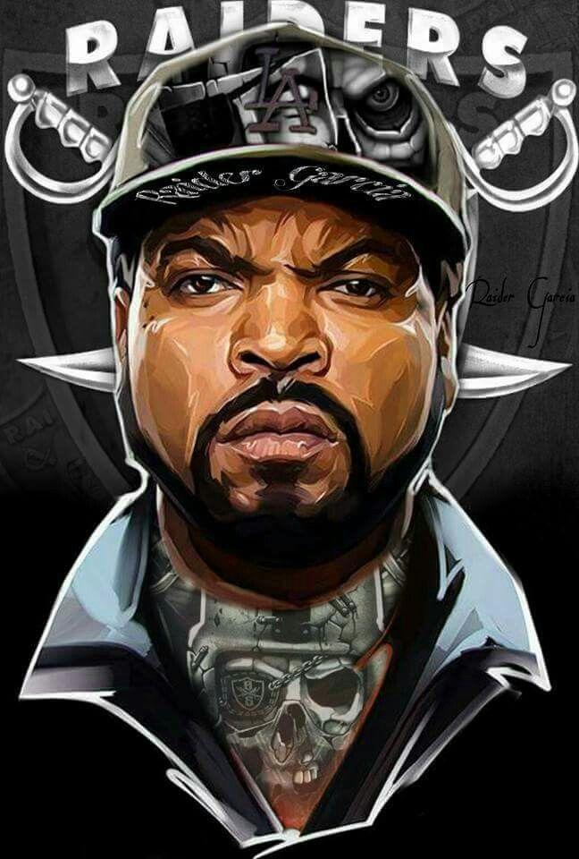 d5e7c8617 Ice Cube -Raiders Ice Cube Drawing