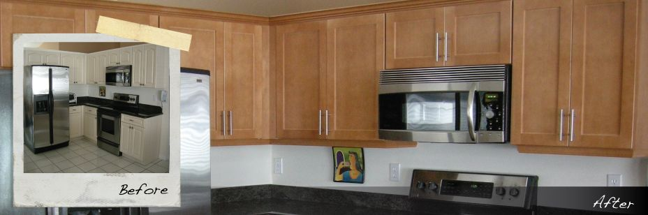 Kitchen Cabinet Refacing | Refinishing U0026 Resurfacing Kitchen Cabinets | The  Home Depot