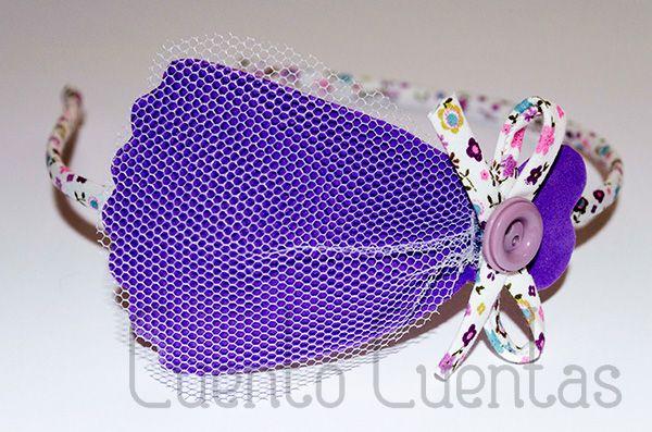 Diademas con goma eva - Eva hairbands