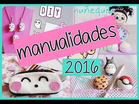 Videos De Manualidades Faciles Y Bonitas.10 Manualidades Diy Super Faciles Rapidas Y Bonitas Del 2016