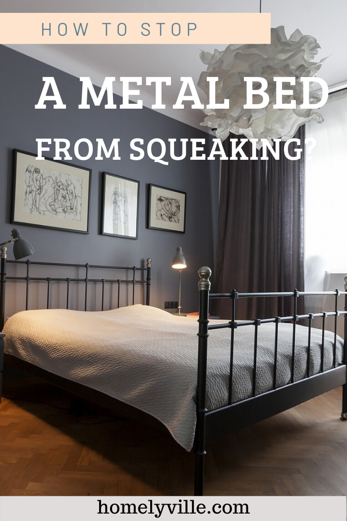 Squeaky Metal Bed Frame How To Stop A Metal Bed From Squeaking Metal Bed Frame Bed Metal Beds