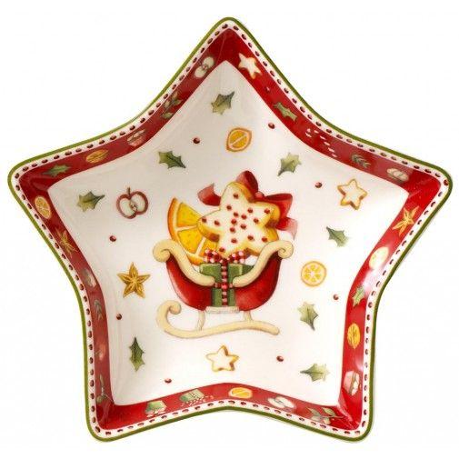 Villeroy & Boch Winter Bakery Delight Small Star Shaped Bowl ...