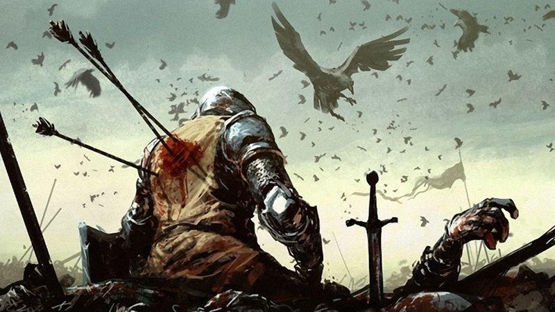 Death Battle Knights Fantasy Art Warband Medieval Arrows Ravens Lost Imperia Online 1920x1080 Wal Www Wallpaperhi Com Knight Art Medieval Art Medieval Fantasy
