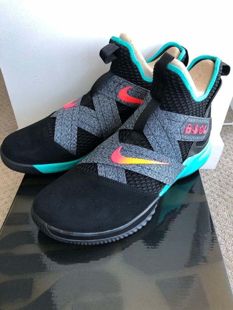 pretty nice a0826 919c6 Nike Lebron Soldier 12 limited edition ebyl the academy 2018 PE mens size  12.5