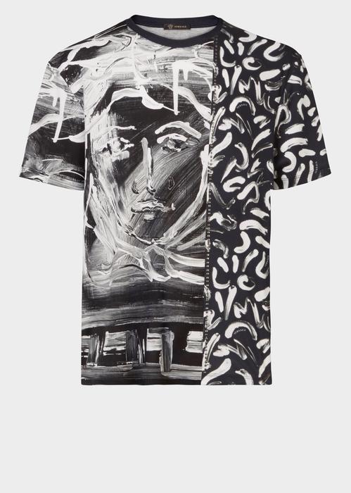a75eb223a VERSACE Painted Medusa Print T-shirt. #versace #cloth # | Versace ...