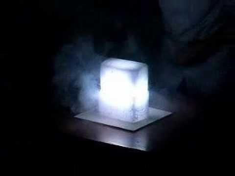 magnesium in dry ice   Dry ice, Magnesium, Magnesium powder