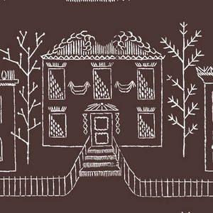 Villas Mobiles   A reproduction of vintage Lana Mackinnon design.